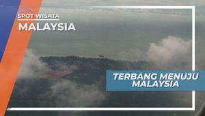 Mendarat di Bandara KLIA Malaysia