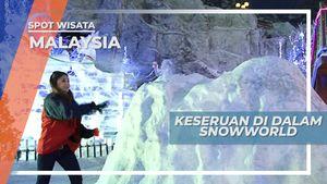 Menikmati Salju di Snowworld Malaysia