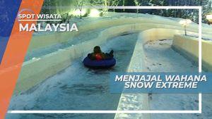 Berseluncur Salju di Snowworld Malaysia