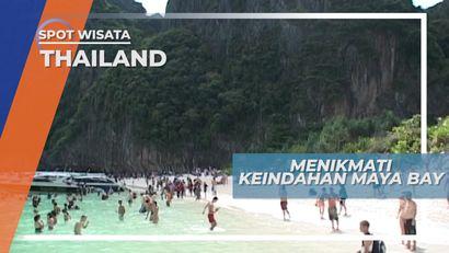 Menikmati Keindahan Sebuah Film di Maya Bay Phi Phi Island Thailand