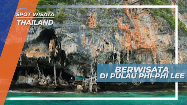 Menuju di Pulau Phi-Phi Lee, Lokasi Pembuatan Film Leonardo di Caprio di Thailand