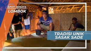 Memperkokoh Lantai dengan Tradisi Sasak Sade, Lombok