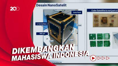 Satelit Nano Indonesia Dijadwalkan Meluncur Tahun 2022