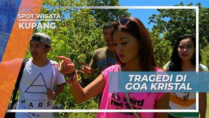 Masuk ke Dalam Goa Kristal Kupang Nusa Tenggara Timur