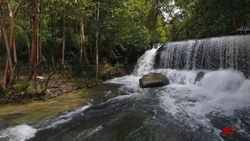 Menikmati Eksotisme Air Terjun Pancur Aji di Sanggau