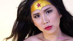 Wonder Woman Inspired Make Up