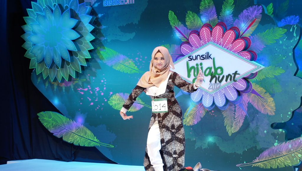 20 Besar Sunsilk Hijab Hunt 2017 Yogyakarta - Rieza Hanifa Pratiwi