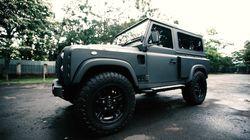 Gagahnya Modifikasi Land Rover Defender
