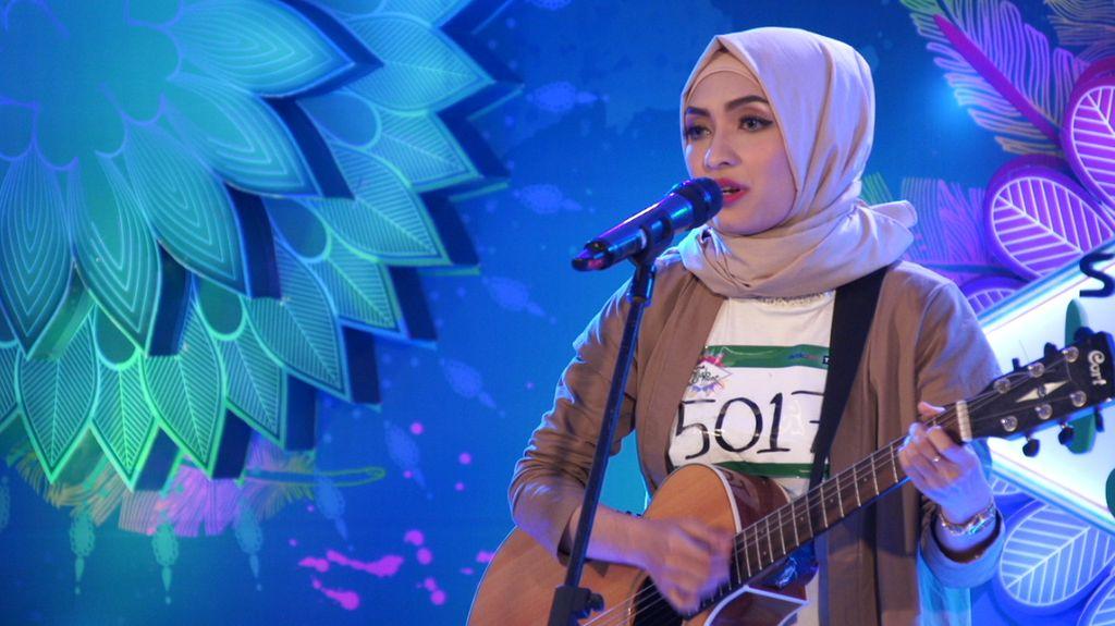 30 Besar Sunsilk Hijab Hunt 2017 Bandung - Anissa Dinan Fadiah