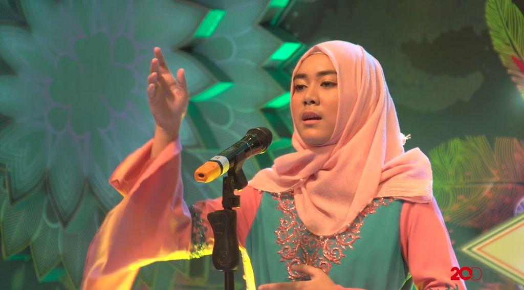 18 Besar Sunsilk Hijab Hunt 2017 Palembang - Nuraini Sarma