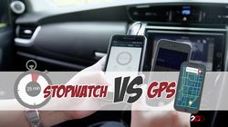 Stopwatch Vs GPS