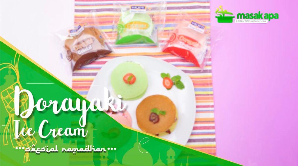 Sari Roti Dorayaki Es Krim