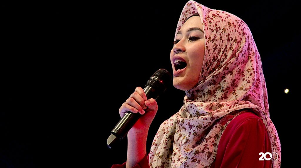 50 Besar Sunsilk Hijab Hunt 2017 - Irna Syahputri
