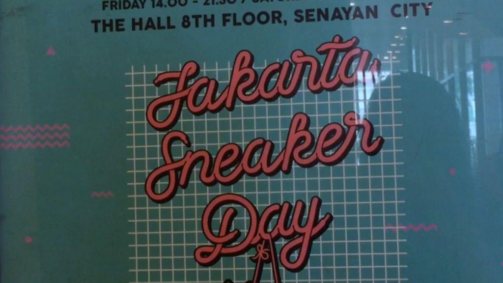 Serunya Jakarta Sneaker Day Hari Terakhir