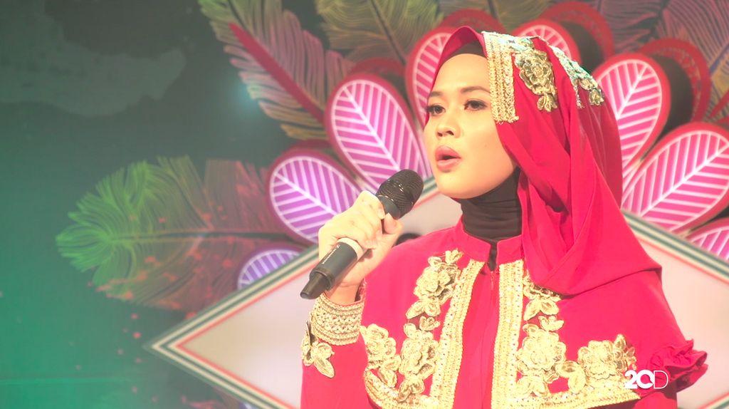 18 Besar Sunsilk Hijab Hunt 2017 Palembang - Mayang Fuji Desmatuti