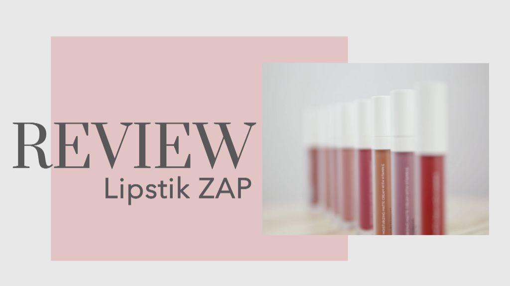 Warna-warna Gemes Lipstik Baru dari ZAP