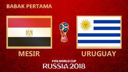 Highlight Babak I Mesir Vs Uruguay