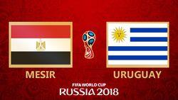 Highlight Full Time Mesir Vs Uruguay