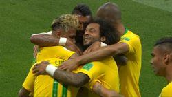Highlight Babak I Brasil Vs Swiss