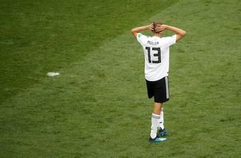 Frustrasinya Jerman Saat Gagal Cetak Gol ke Gawang Meksiko