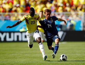 Highlight Babak I Kolombia Vs Jepang