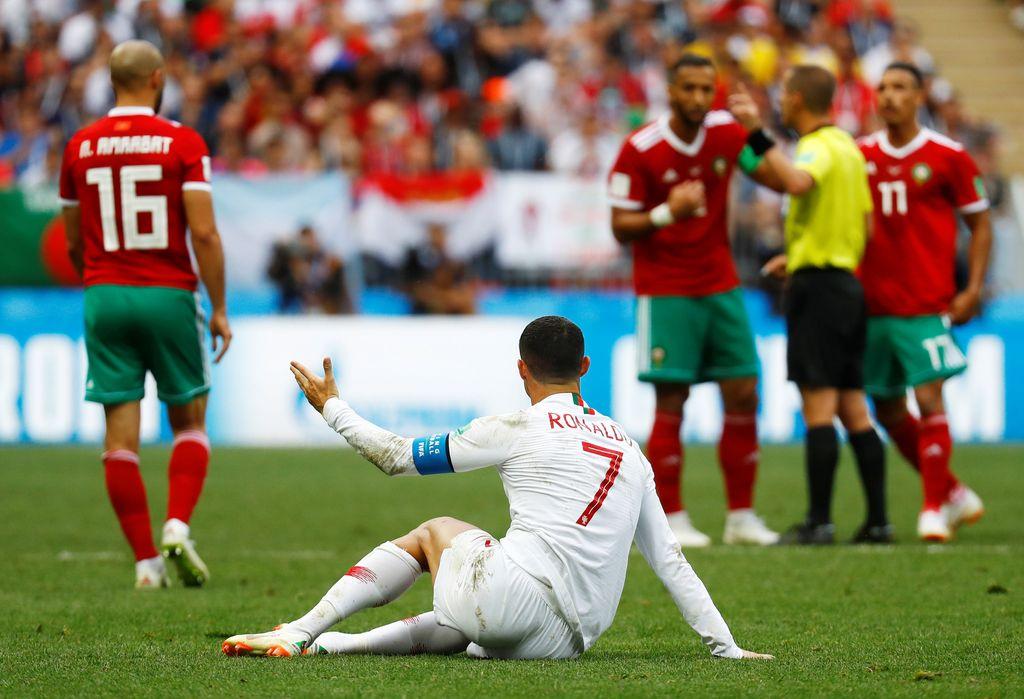 Aksi Ronaldo Menjadi yang Tersubur Saat Mengalahkan Maroko