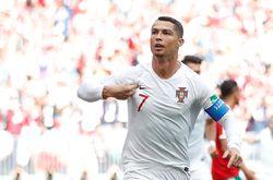 Gol Ronaldo yang Menjadikannya Topskorer Sementara Piala Dunia