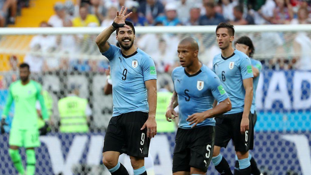 Highlights: Uruguay Vs Arab Saudi 1-0
