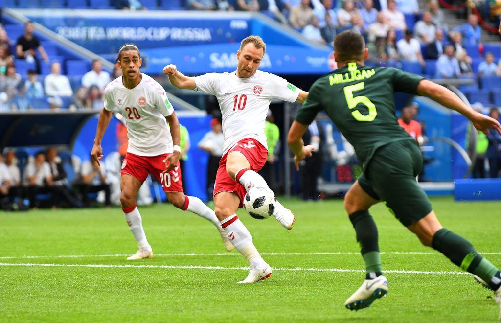 Highlights Babak I Denmark Vs Australia