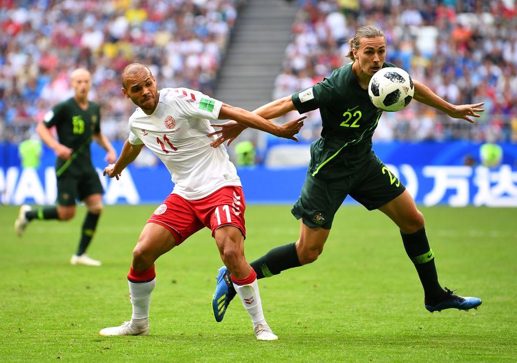 Highlights: Denmark Vs Australia 1-1