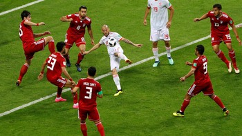 Highlights Babak I Iran Vs Spanyol