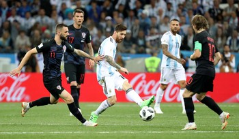 Highlights Babak I Argentina Vs Kroasia