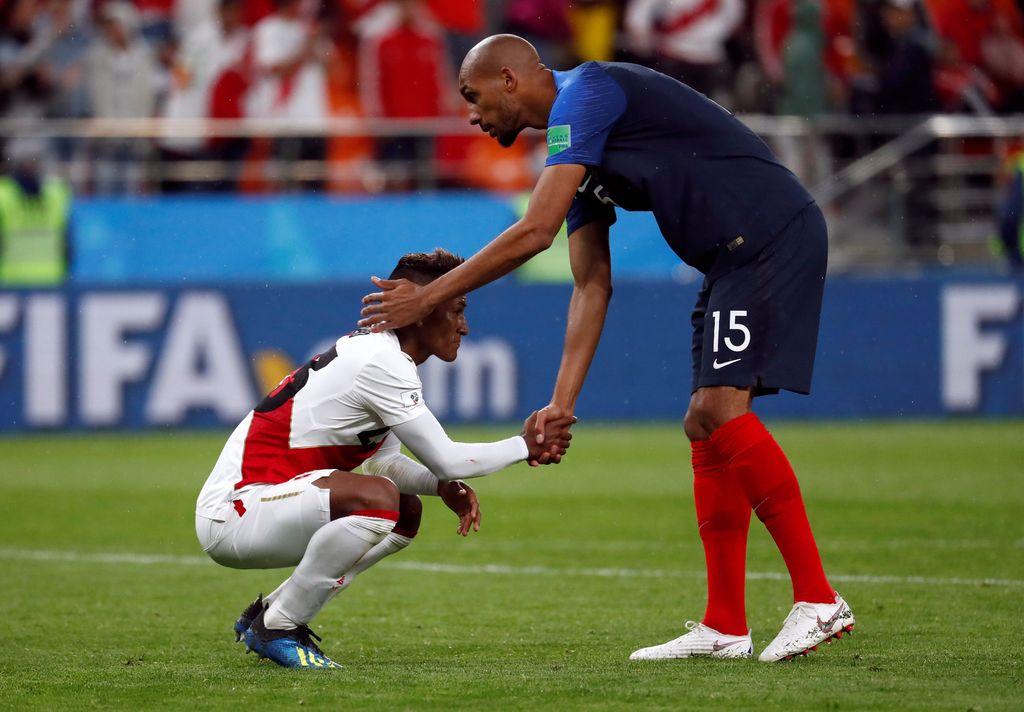 Highlights: Prancis Vs Peru 1-0