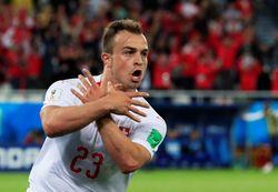 Gol Krusial Shaqiri Pengantar Kemenangan Swiss