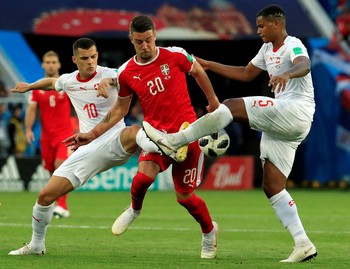 Highlights: Serbia Vs Swiss 1-2