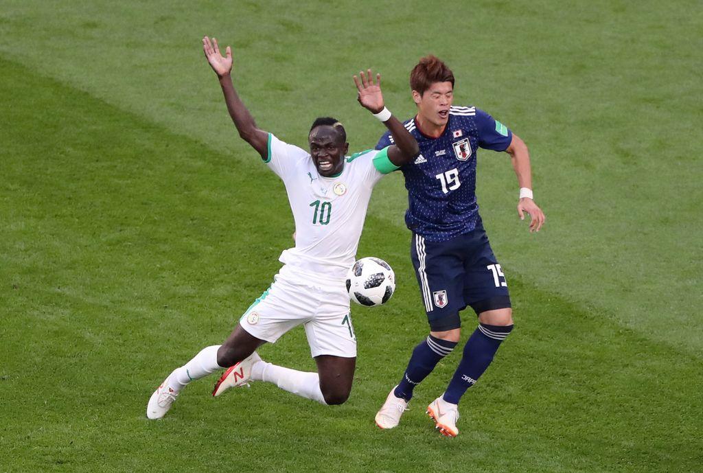 Highlights Babak I Jepang Vs Senegal