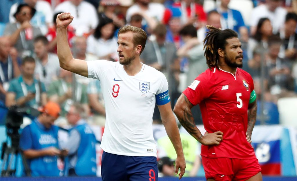 Highlights Babak I Inggris Vs Panama