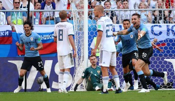 Highlights Babak I Uruguay VS Rusia