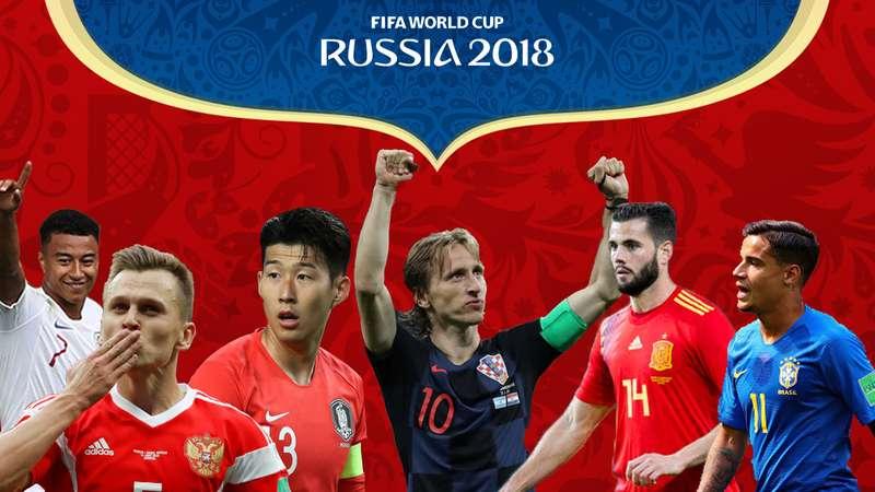 Serangkaian Gol Lengkungan Indah di Piala Dunia 2018