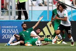 Highlights Babak I Arab Saudi Vs Mesir