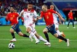 Highlights Babak I Spanyol Vs Maroko