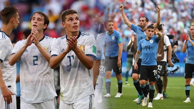 Uruguay dan Rusia Wakili Grup A Lolos ke Babak 16 Besar Piala Dunia 2018