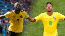 Neymar Vs Lukaku, Siapa Lebih Tajam?