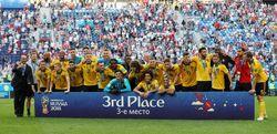 Belgia Pamer Medali Juara Tiga Piala Dunia 2018