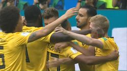 Gol Meunier! Belgia 1-0 Inggris