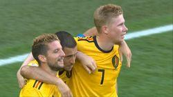 Gol Hazard! Belgia 2-0 Inggris