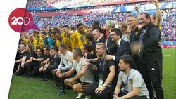 Bangganya Martinez pada Pemain Belgia