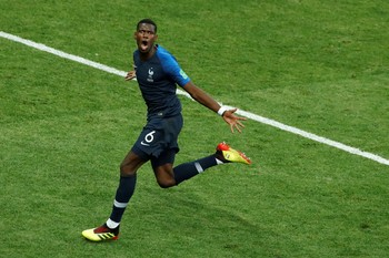 Pogba dan Mbappe Cetak Gol! Prancis 4-1 Kroasia