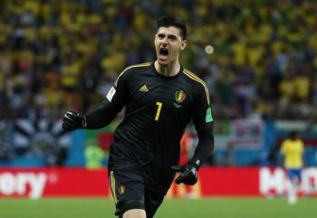 Aksi Kiper Terbaik Piala Dunia 2018, Thibaut Courtois