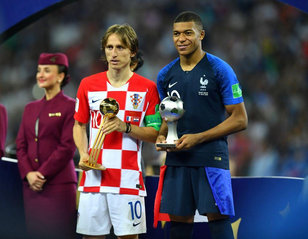Modric dan Mbappe Jadi yang Terbaik di Piala Dunia Rusia